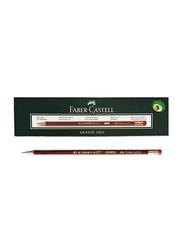 Faber-Castell 12-Piece Dessin 2001 Pencil Set, Black