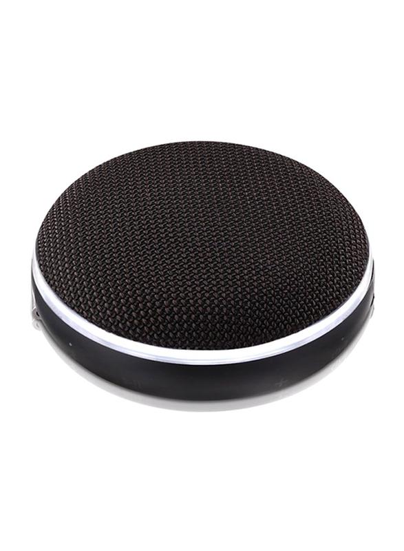 LG PH2 Splashproof Portable Bluetooth Speaker with LED Light, Black