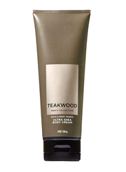 Teakwood Men's Collection Pour Home Ultra Shea Body Cream, 226ml