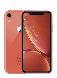 Apple iPhone XR Coral 256GB, With Facetime, 3GB RAM, 4G LTE, Dual SIM Smartphone