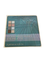 No7 Glamorous Nudes Eye Palette, 9gm, Multicolour