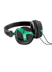 AKG K518 Premium 3.5 mm Jack On-Ear DJ Headphone, Neon Green