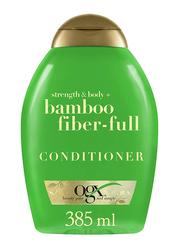 Ogx Strength & Body + Bamboo Fiber-full Conditioner for All Hair Types, 385ml
