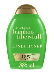 Ogx Strength & Body + Bamboo Fiber-full Conditioner for All Hair Types, 385ml