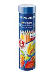 Staedtler 24-Piece ST-144 NMD24 Noris Club Pencils Set, Multicolor