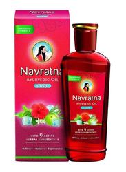 Navaratna Cool Ayurvedic Oil for All Hair Types, 50ml
