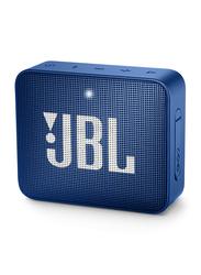 JBL Go 2 IPX7 Water Resistant Portable Bluetooth Speaker, Deep Sea Blue