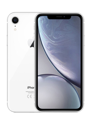 Apple iPhone XR White 128GB, With Facetime, 3GB RAM, 4G LTE, Dual SIM Smartphone