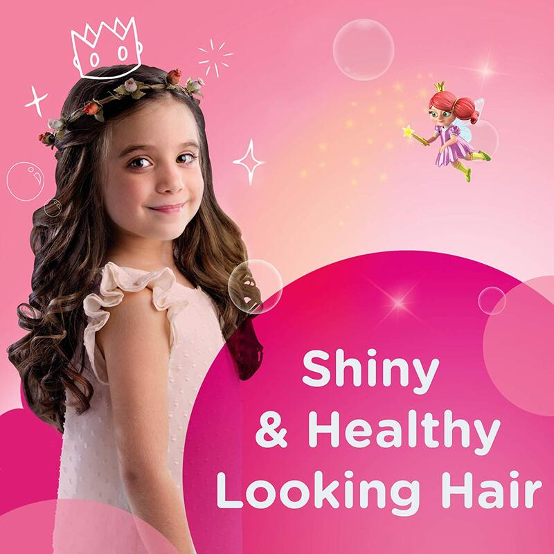 Johnson's Baby 200ml Shiny Drops Kids Conditioner Spray for Enhanced Shine and Silky Hair