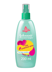 Johnson's Baby 200ml No More Tangles Kids Conditioner Spray for Easy Combing