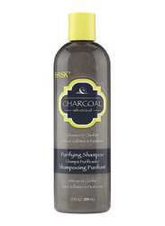 Hask Charcoal with Citrus Oil Purifying Shampoo for All Hair Types, 355ml