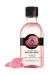 The Body Shop British Rose Shower Gel, 250ml