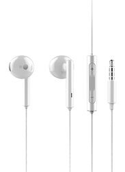 Huawei AM115 3.5mm Jack In-Ear Headphones with Mic, White