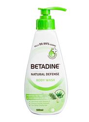Betadine Natural Defense Purifying Tea Tree Body Wash, 500ml
