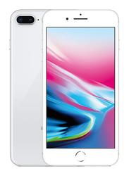 Apple iPhone 8 Plus Silver 64GB, With Facetime, 2GB RAM, 4G LTE, Single SIM Smartphone