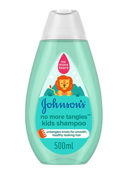 Johnson's Baby 500ml No More Tangles Kids Shampoo for Smooth and Healthy Looking Hair