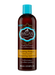 Hask Argan Oil Repairing Shampoo for Damaged Hair, 355ml