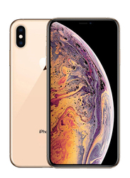 Apple iPhone XS Max Gold 64GB, With Facetime, 4GB RAM, 4G LTE, Single SIM Smartphone