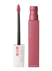 Maybelline New York SuperStay Matte Ink Liquid Lipstick, 5ml, 15 Lover, Pink