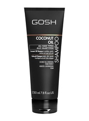 Gosh Coconut Oil Shampoo for All Hair Types, 230ml