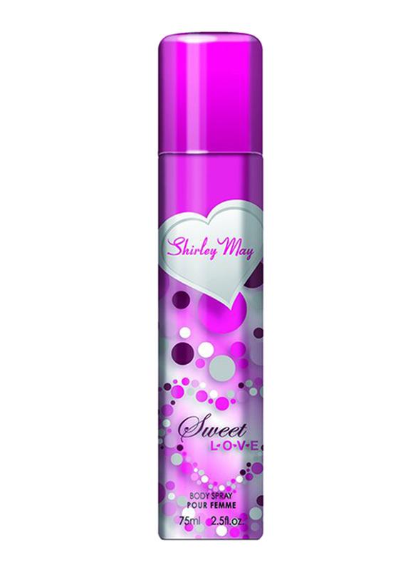 Shirley May Sweet Love Deodorant Spray for Women, 75ml