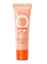 Rimmel London BB Cream Radiance, 1oz, Medium, Beige