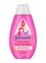 Johnson's Baby 500ml Shiny Drops Kids Shampoo with Drop of Argan Oil