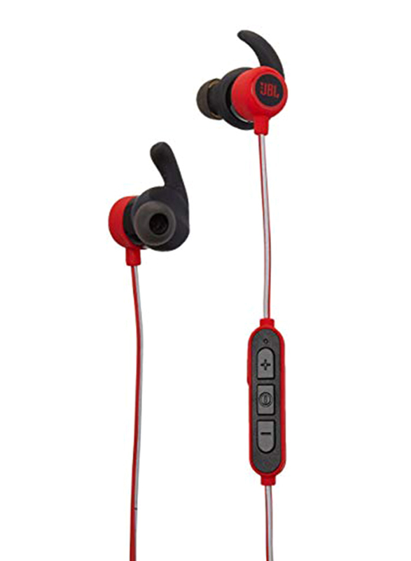 JBL Reflect Mini Lightest Wireless Neckband Sport Headphone with Mic, Red