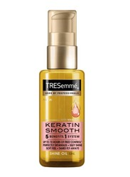 Tresemme Keratin Smooth Frizz Control 5in1 Shine Hair Oil with Marula Oil for All Hair Types, 50ml