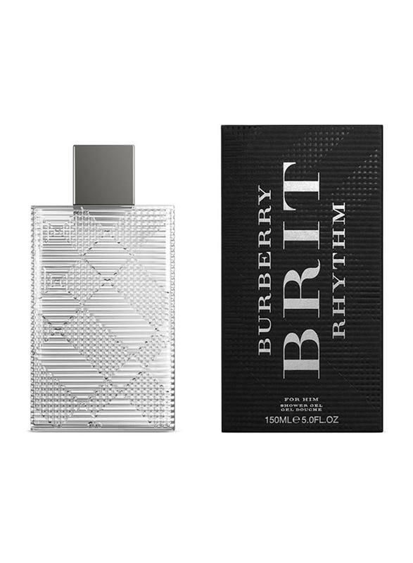 Burberry Brit Rhythm Shower Gel for Men, 150 ml