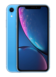 Apple iPhone XR Blue 256GB, With Facetime, 3GB RAM, 4G LTE, Dual SIM Smartphone