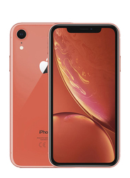 Apple iPhone XR Coral 128GB, With Facetime, 3GB RAM, 4G LTE, Dual SIM Smartphone