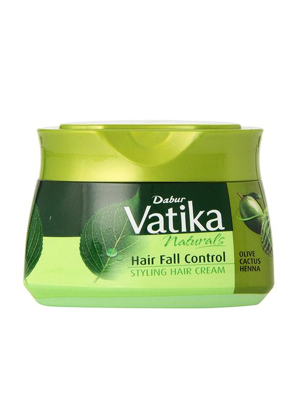 Dabur Vatika Naturals Olive & Cactus Hair Fall Control Cream for Fine Hair, 140ml