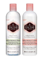 Hask Cactus Water Weightless Moisture Shampoo and Conditioner Set for Dry Hair, 2 Pieces