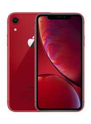 Apple iPhone XR Red 64GB, With Facetime, 3GB RAM, 4G LTE, Dual SIM Smartphone