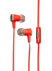 JBL Synchros E10 3.5 mm Jack In-Ear Stereo Headphones with Mic, Red