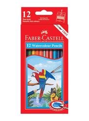 Faber-Castell 12-Piece Painting Watercolor Pencil Set, Multicolor