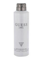 Guess 1981 226ml Body Spray for Men
