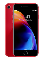 Apple iPhone 8 Red 256GB, With Facetime, 2GB RAM, 4G LTE, Single SIM Smartphone