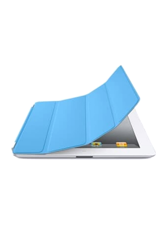Apple PU Flip Case Cover for Apple iPad 2 and New iPad Tablet, Blue
