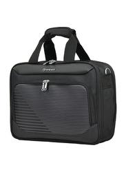 Eminent 17-inch Executive Laptop Messenger Bag, S1140-17, Black