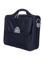 Eminent 17-inch Laptop Messenger Bag, E1751-17, Black