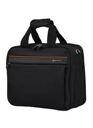 Eminent 17-inch Executive Laptop Messenger Bag, S0790-17, Black