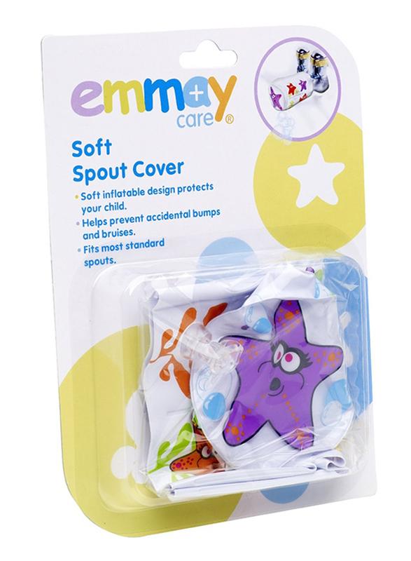 Dumasafe Soft Spout Cover, Purple/White