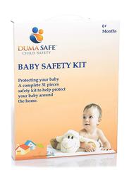 Dumasafe Safety Kit, 31 Pieces, White