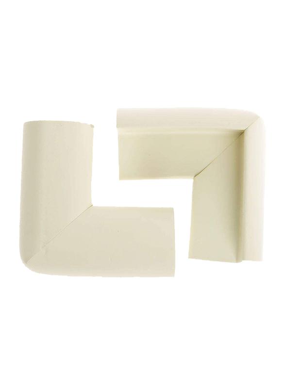 Dumasafe Corner Guard, 5 x 5 cm, 2 Pieces, Ivory