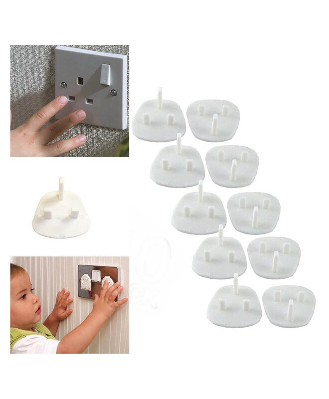 Dumasafe Socket Covers Pack, 20 Pieces, White