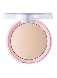 Pretty By Flormar Baked Powder, 7.5gm, 003 Light Porcelain Pink, Beige