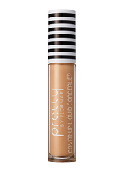 Pretty By Flormar Cover Up Liquid Concealer, 6ml, 005 Medium Beige