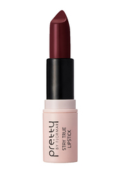 Pretty By Flormar Stay True Lipstick, 4gm, 016 Purple Grapes, Purple